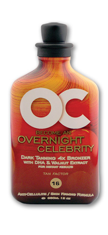 OC Overnight Celebrity Tanning Lotion